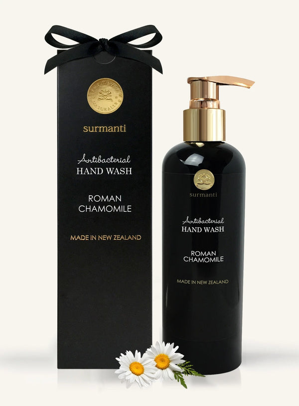 Surmanti Hand Wash Antibacterial Cleanser - Roman Chamomile (300ml)