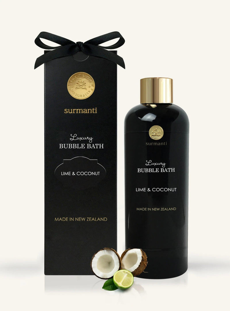 Surmanti Luxury Bath Bubble - Lime & Coconut (300ml)