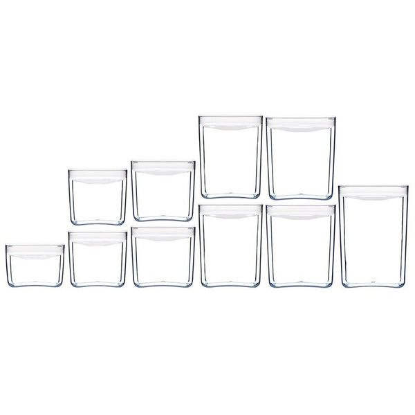 ClickClack: Pantry Cube - White (Set of 10)