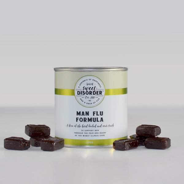 Sweet Disorder: Man Flu Formula (200g)