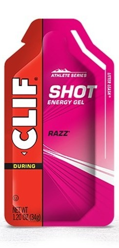 Clif Shot Energy Gel - Razz (34g)