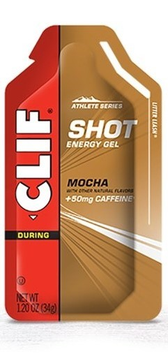 Clif Shot Energy Gel - Mocha w 50mg Caffeine (34g)