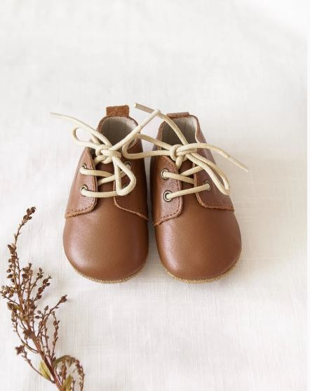 Karibou Kids: Brooklyn Genuine Leather Boots in Chocolate 2 AU/3 US - Softsole