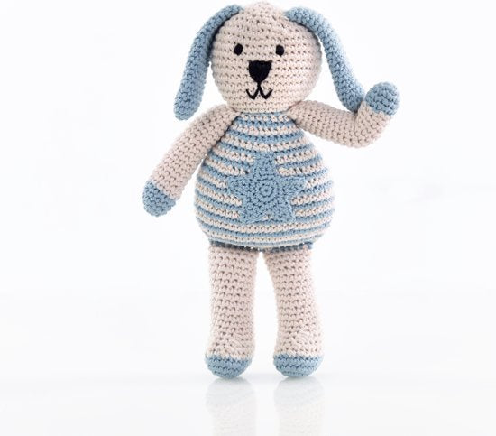 Pebble: Organic Crochet Motif Bunny - Star