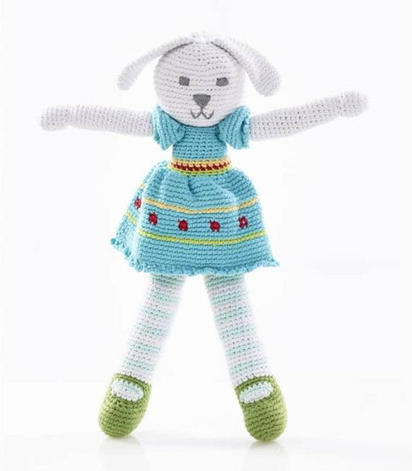 Pebble: Crochet Doll - Bunny Girl