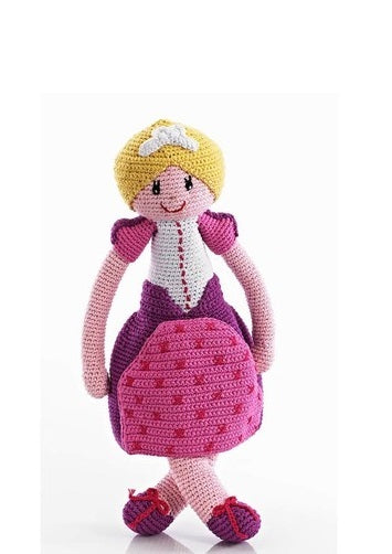 Pebble: Once Upon A Time Crochet Doll - Princess