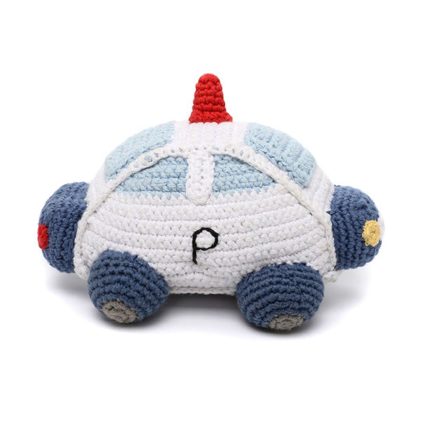 Pebble: Crochet Police Car