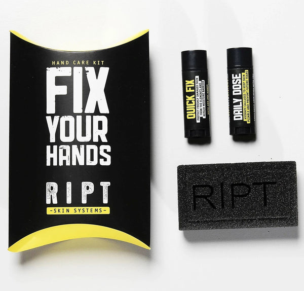 Ript Skin Systems: 3 Phase Hand Care Kit