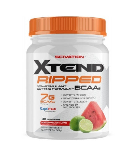 Xtend Ripped: Non-Stimulant - Watermelon Lime (30 Serve)