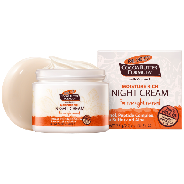 Palmers: Moisture Rich Night Cream (75g)