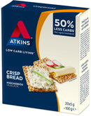 Atkins Low Carb Crispbread 100g (6 Box Value Pack)