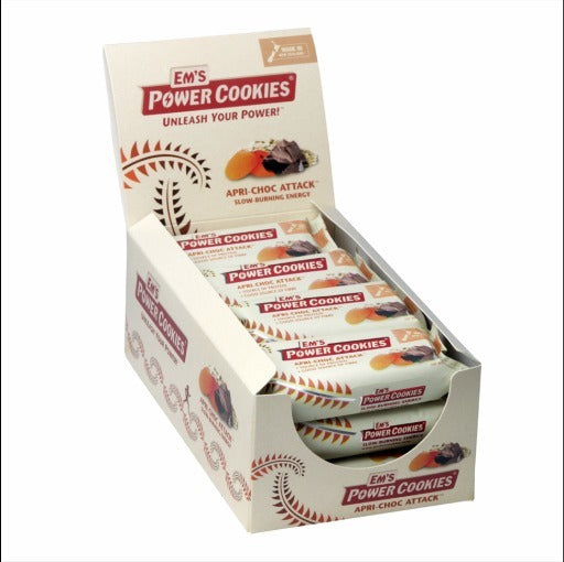 Ems Power Cookies - Apri-Chocolate Attack Bar (12x80g)