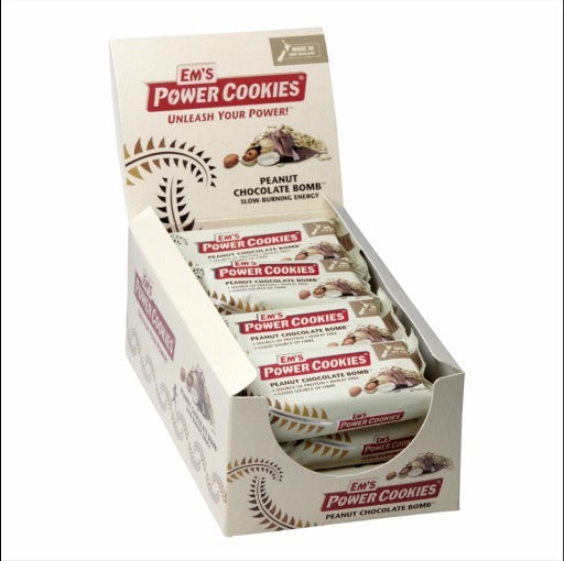Ems Power Cookies - Peanut Chocolate Bomb Bar (12x80g)