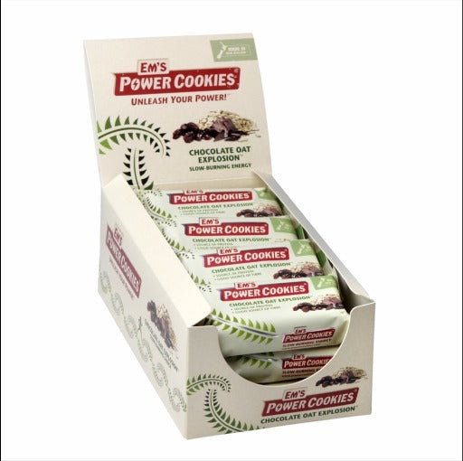Ems Power Cookies - Chocolate Oat Explosion Bar (12x80g)