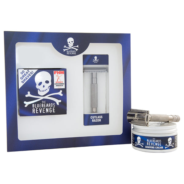 Bluebeards Revenge: Shaving Cream & Cutlass Razor Kit