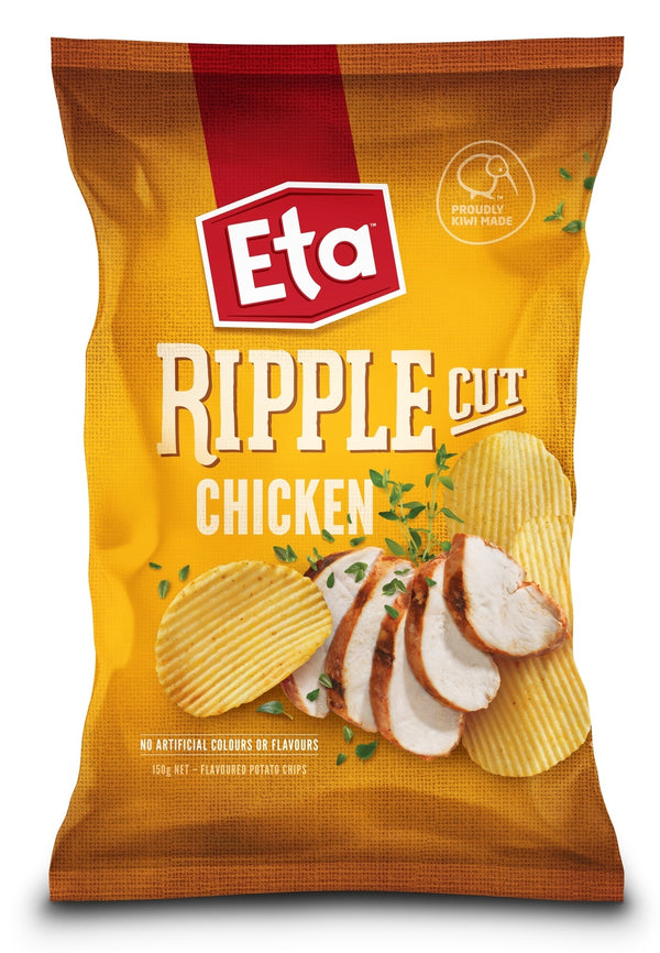 Eta Ripple Cut Chicken (12 x 150g)