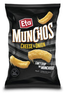 Eta Munchos Cheese & Onion 100g (12 Pack)