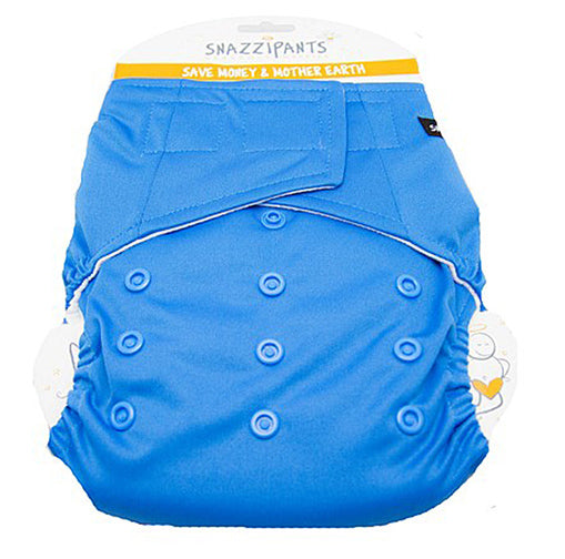 Snazzipants: All in One Reusable Nappy - Blue