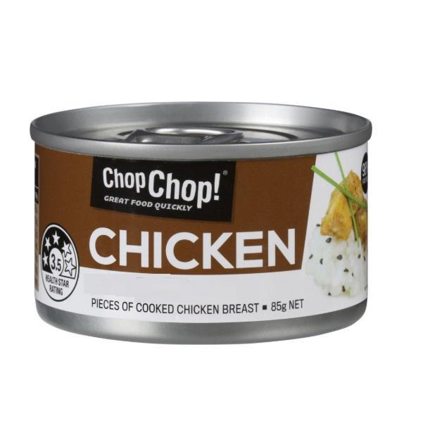 Chop Chop: Shredded Chicken - Pulled BBQ 85g (12 Pack)