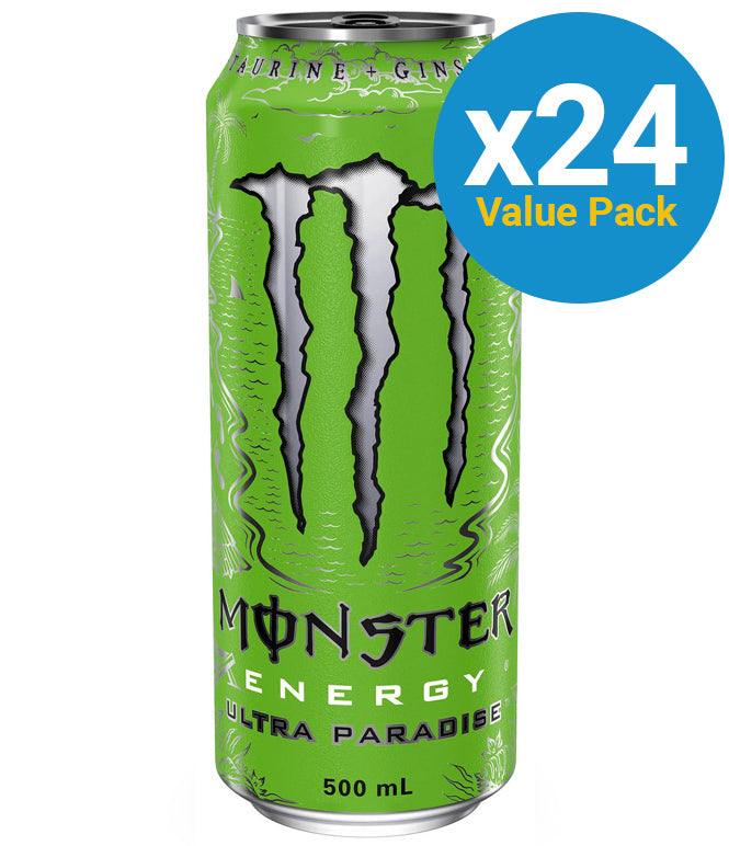 Monster Energy Zero Ultra Paradise 500ml (24 Pack)
