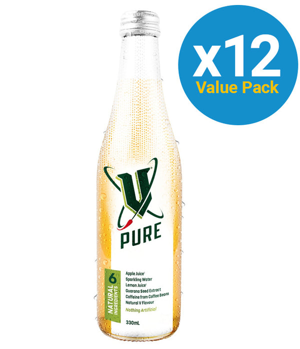 V Pure Bottles 330ml (12 Pack)