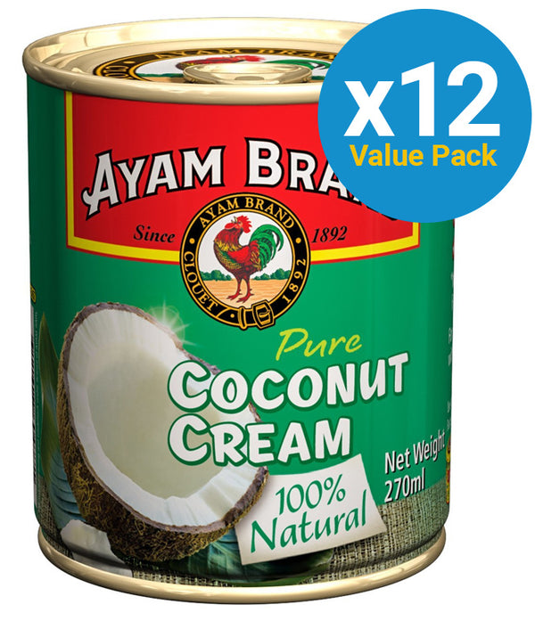 Ayam: Coconut Cream 270ml (12 Pack)
