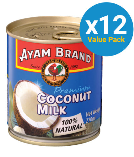 Ayam: Coconut Milk 270ml (12 Pack)