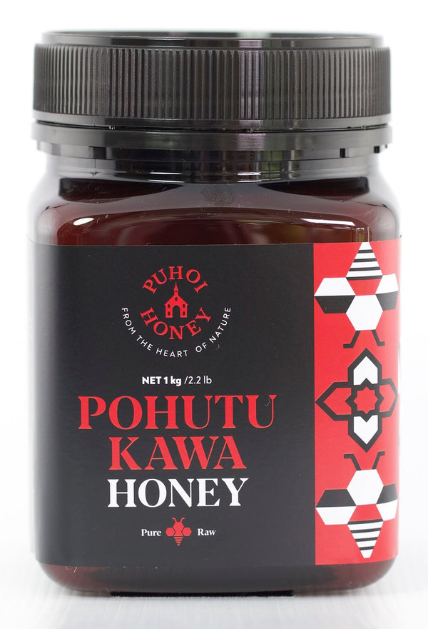 Puhoi Honey: Pohutukawa Honey - Pure & Raw (1kg)