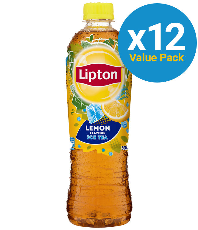 Lipton Ice Tea Lemon 500ml (12 Pack)