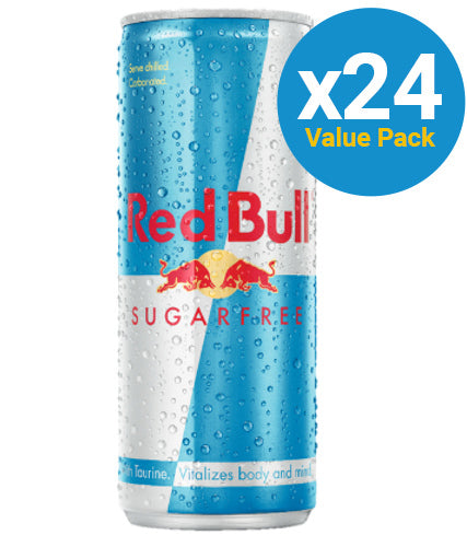 Red Bull Sugarfree Energy Drink 250ml Can (24 Pack)
