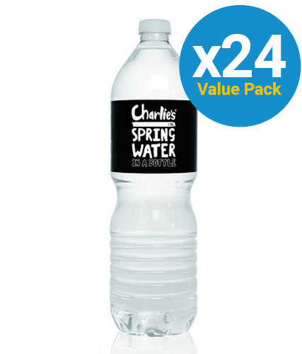 Charlie's Spring Water 600ml (24 Pack)