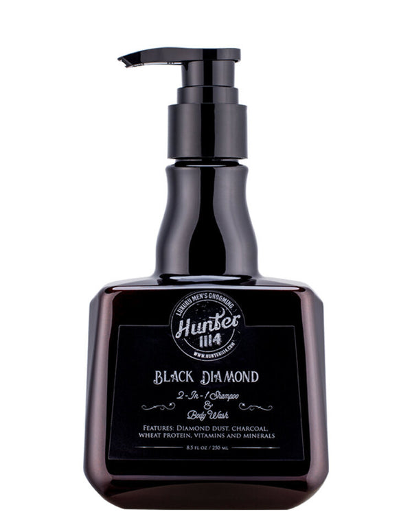 Hunter 1114: Black Diamond Shampoo (250ml)