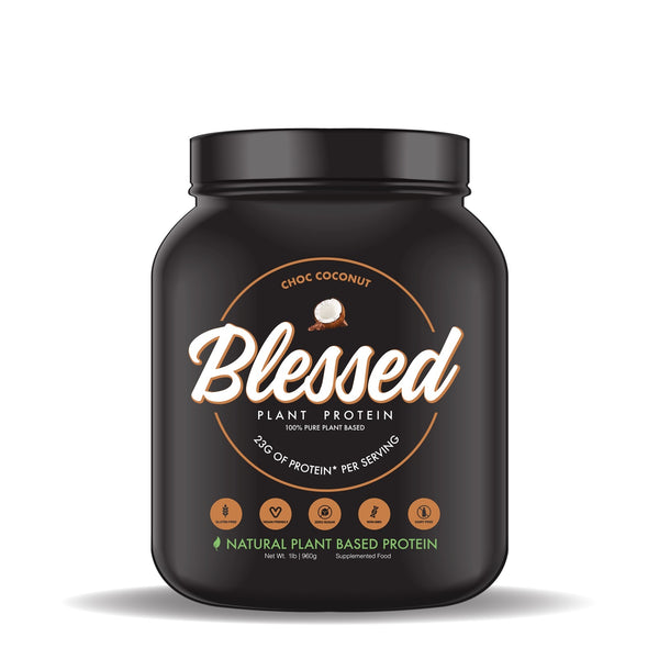 Blessed Plant Based Protein Powder - Choc Coconut (15 Serves)