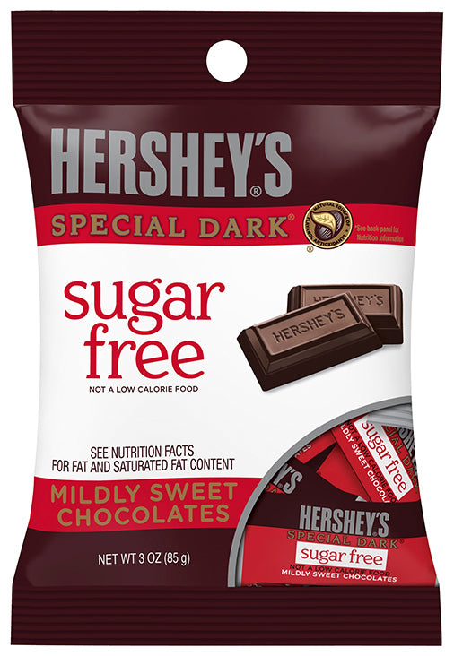 Hersheys Sugar Free Dark Chocolate 85g