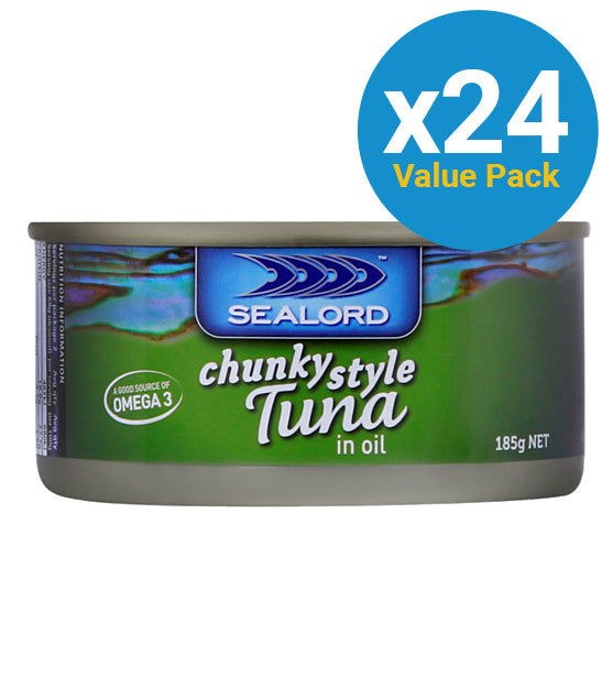 Sealord: Tuna in Oil 185g (24 Pack)