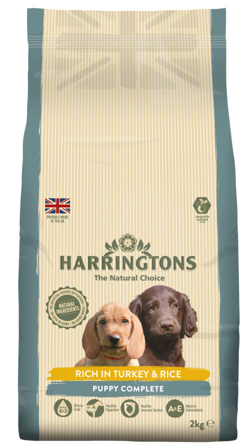 Harringtons: PUPPY Food Turkey & Rice 2kg