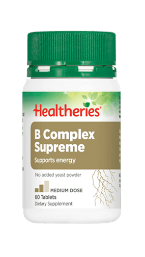 Healtheries B Complex Supreme (60 Tabs)