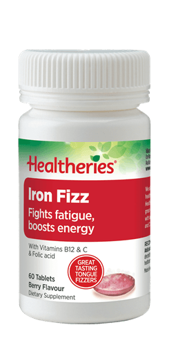 Healtheries Iron Fizz (60 Tabs)