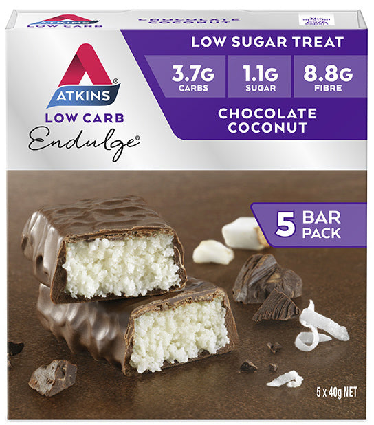 Atkins Endulge Bars - Chocolate Coconut (Box of 5)