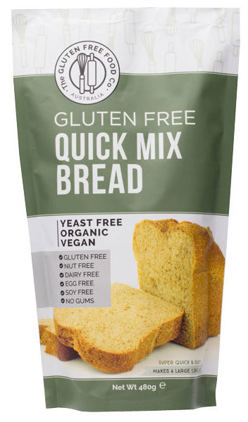 Gluten Free Quick Mix Bread 480g