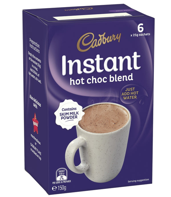 Cadbury: Instant Hot Chocolate Sachets - (36 Pack)