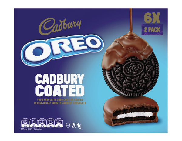 Oreos: Cadbury Chocolate Coated - (10 x 204g)
