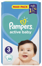 Pampers: Active Baby Nappies - Midi Size 3 (66 pack)