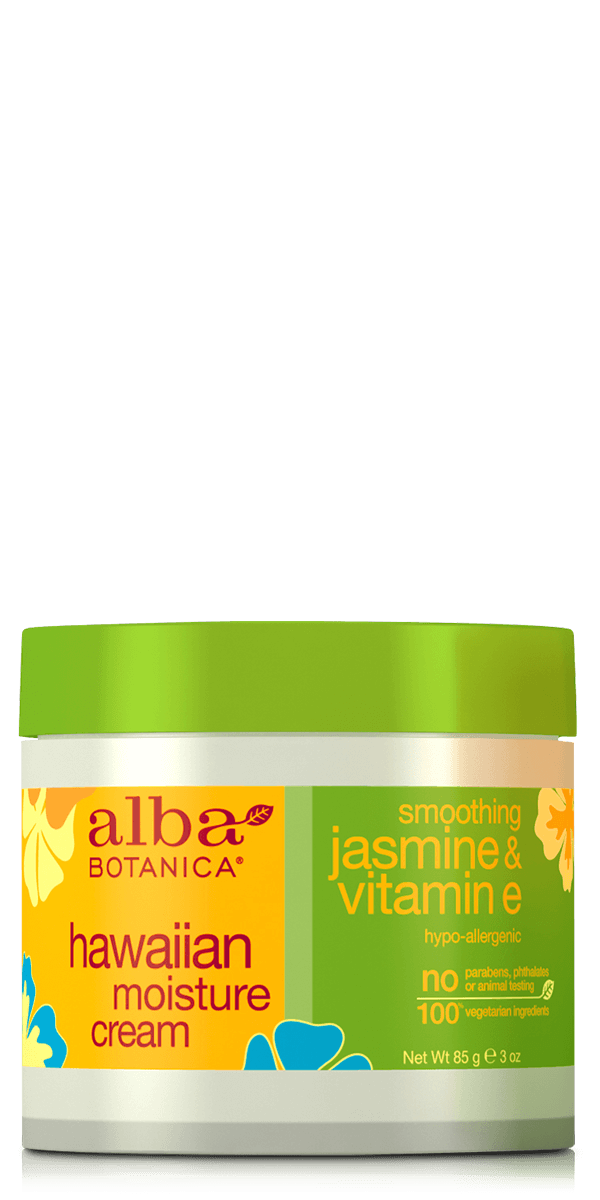 Alba Botanica: Jasmine and Vitamin E Moisture Cream - Soothing (85gm)