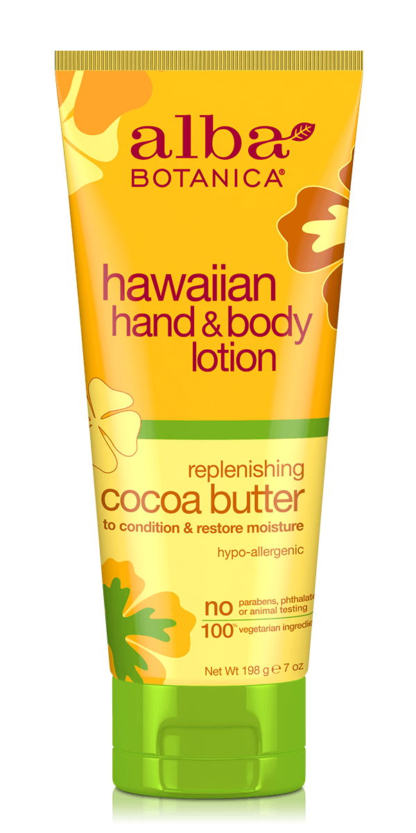 Alba Botanica: Cocoa Butter Hand & Body Lotion (198ml)