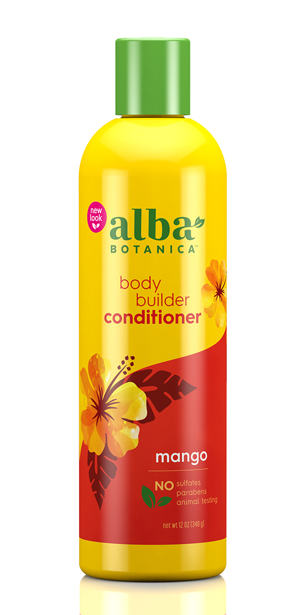Alba Botanica: Mango Moisturising Hair Conditioner - Body Builder (340ml)