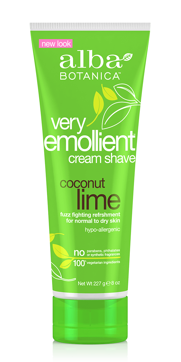 Alba Botanica: Cream Shave - Coconut Lime (235ml)