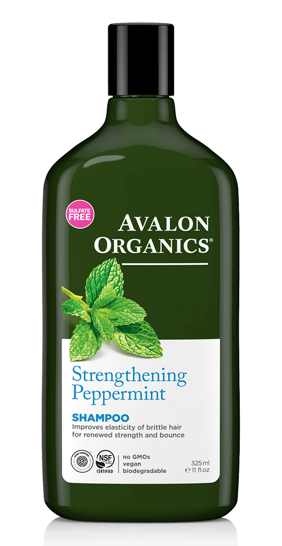 Avalon Organics: Peppermint Shampoo - Revitalizing with Babussa Oil (325ml)