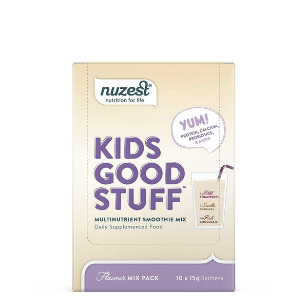 Nuzest Kids Good Stuff Smoothie Mix - Assorted (10 Sachets)