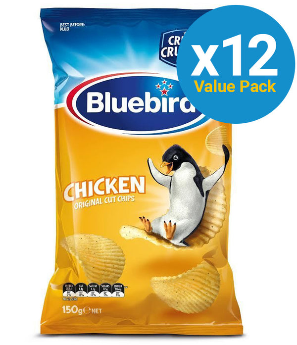 Bluebird Original Cut - Chicken 150g (12 Pack)